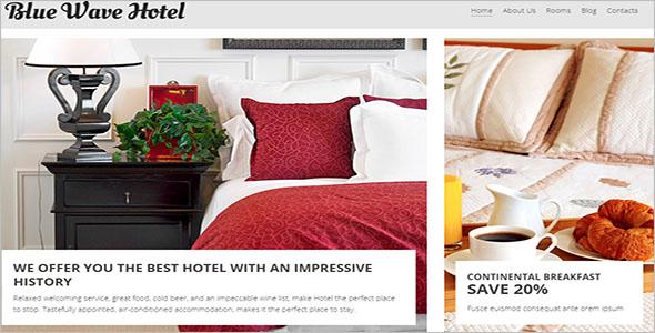 Resort Room Joomla Template