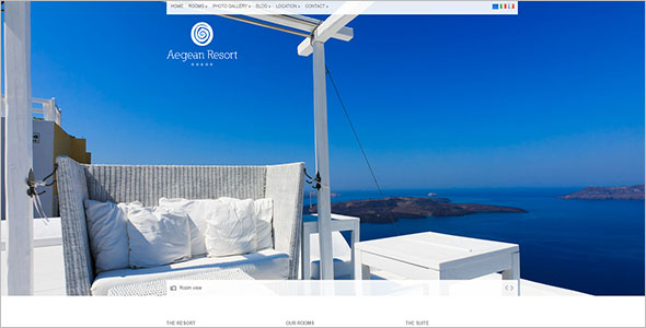 Resort Website Template
