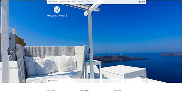 Resort Website Template