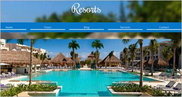 Resort Website Templates