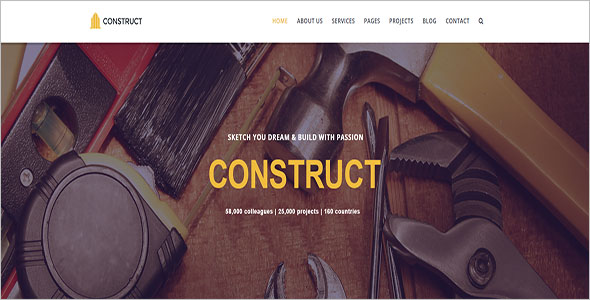 Responsive Engineer Joomla Theme
