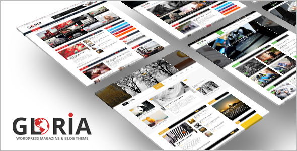 Responsive Newspaper WordPress Theme
