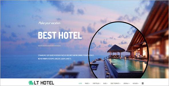 Responsive Resort Joomla Template