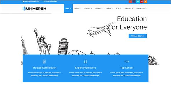 Responsive School Website Template