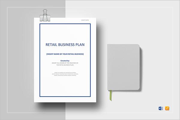 Retail Plann Template