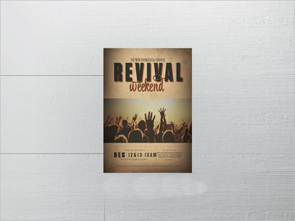 Revival Flyer Template Free Download