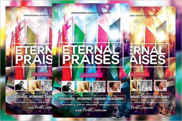 Revival Meeting Flyer Template