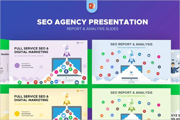 SEO Weekly Report Template