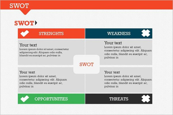 SWOT Analysis PPT For Student