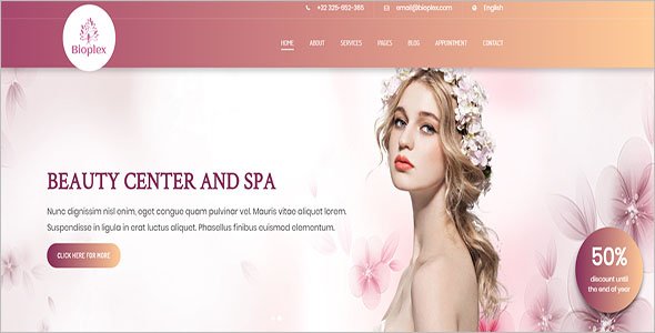 Salon HTML5 Template