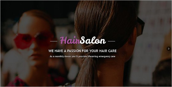 Salon Makeup HTML5 Template
