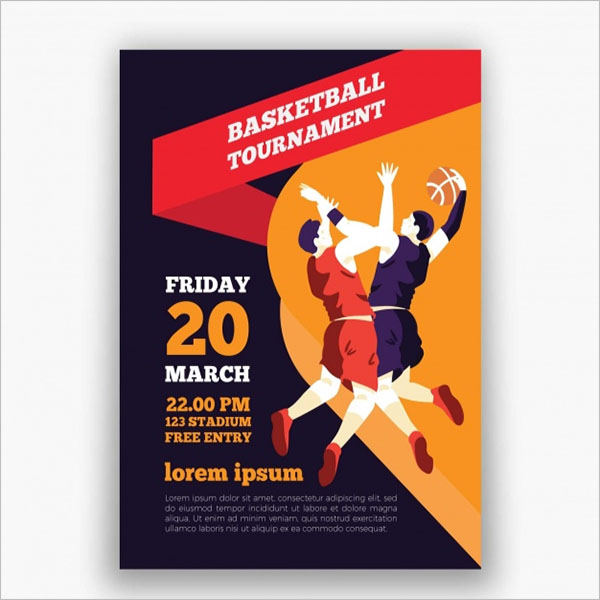 Sample Basketball Brochure Template