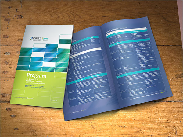 Sample Conference Brochure Template