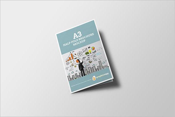 Sample Half Fold Brochure Template