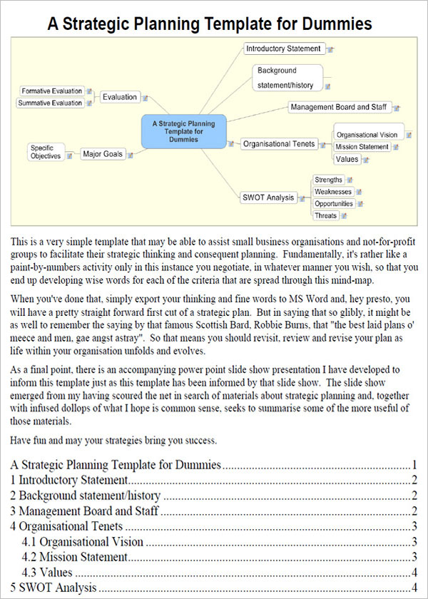 Sample IT Strategy Template