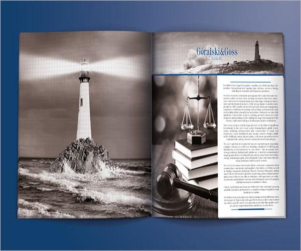 Sample Legal Brochure Template