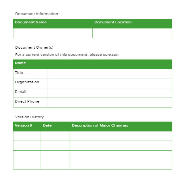 Sample Training Strategy  Template