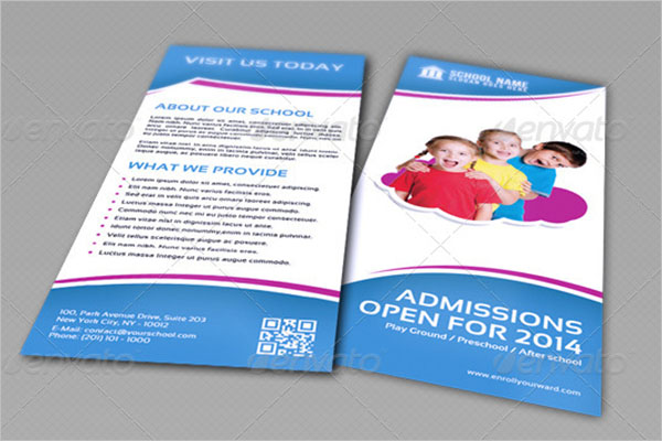 School Camp Brochure Template