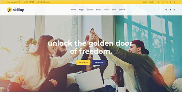 School HTML Website Template