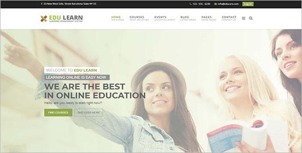 School Responsive Website Template