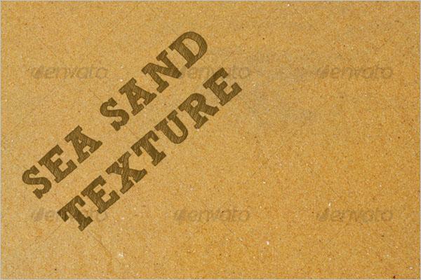 Sea Sand Texture Design