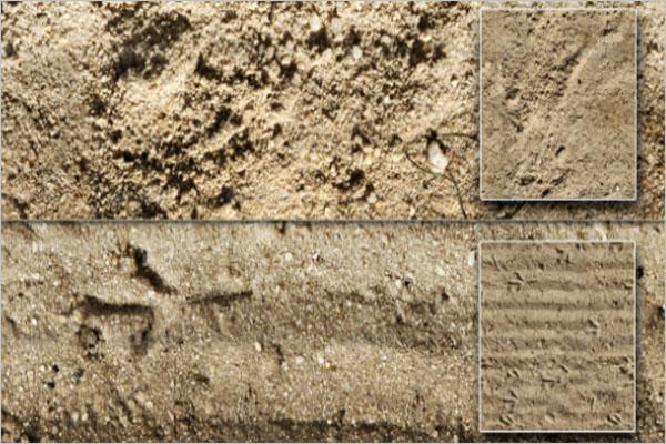 Set Of Sand Texture