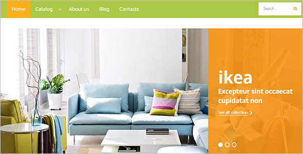 Simple Furniture VirtueMart Template