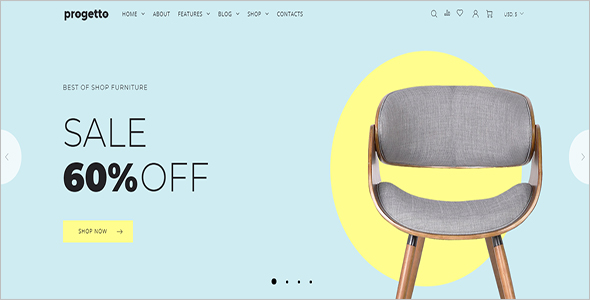 Simple Furniture Woocommerce Template