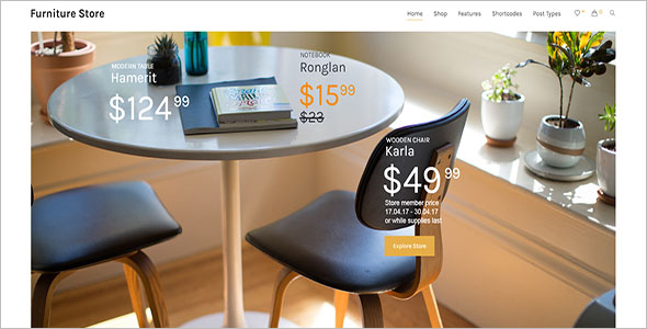 Simple Furniture Woocommerce Theme