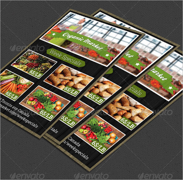 Simple Grocery Flyer Template