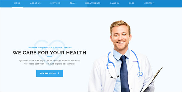 Simple Health Care Joomla Theme