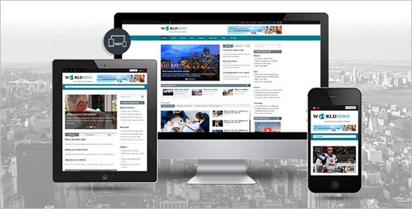 Simple Newspaper WordPress Theme