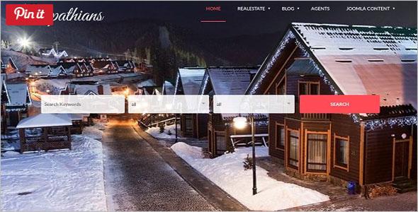 Simple Resort Joomla Template