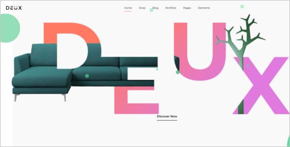 Simple WordPress Woocommerce Theme