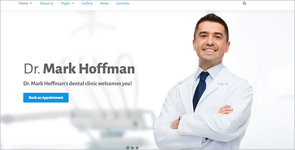 Single Page Health Joomla Theme