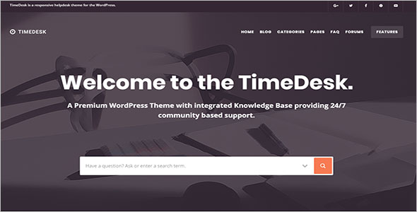 Smart Knowledge Base WordPress Theme
