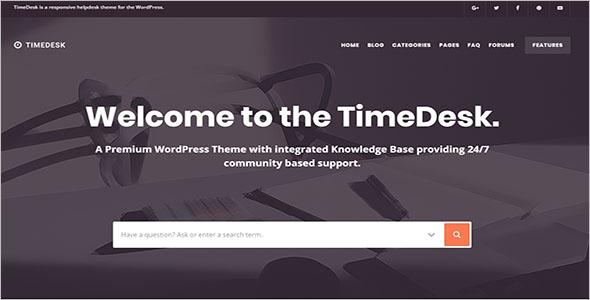 Smart Knowledge Base WordPress Theme