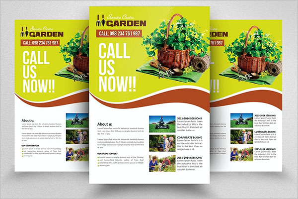 Smart Lawn Care Flyer Template