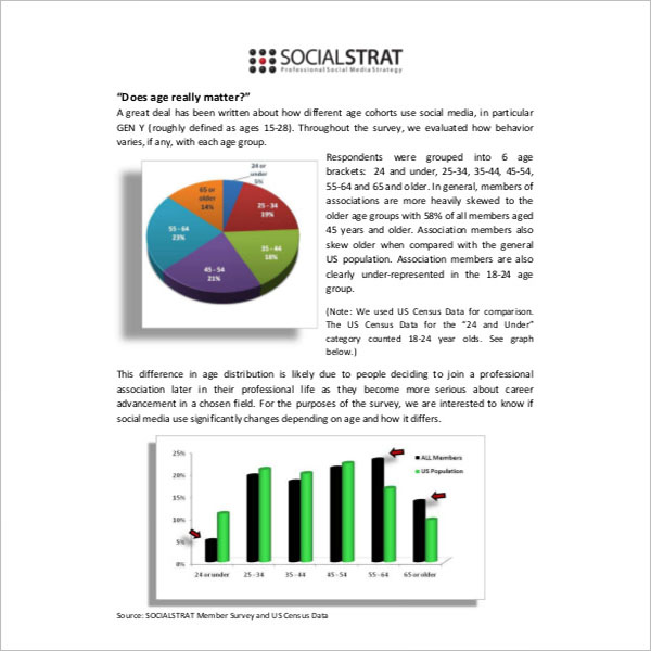 Social Media Report Template PPT