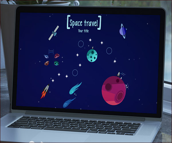 Space Prezi Presentation Template