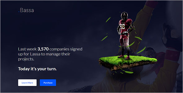 Sports Landing Page Templates