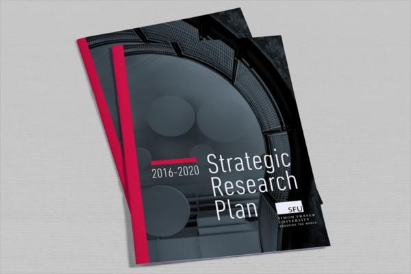 Strategic Research Plan Sample