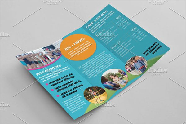 Summer Camp Brochure Design