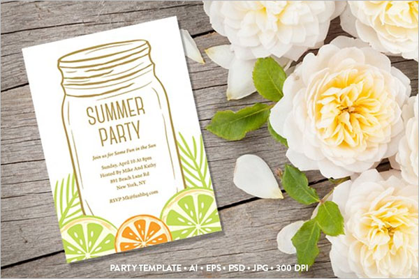 Summer Party Planning Template