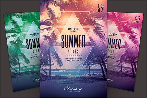 Summer Vibes Flyer Design
