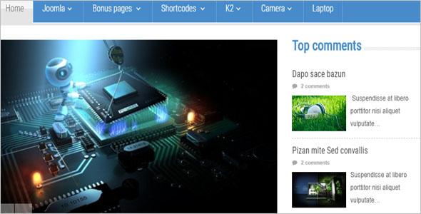 Technology News Blog Theme