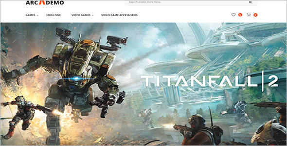 Top Gaming PHP Theme