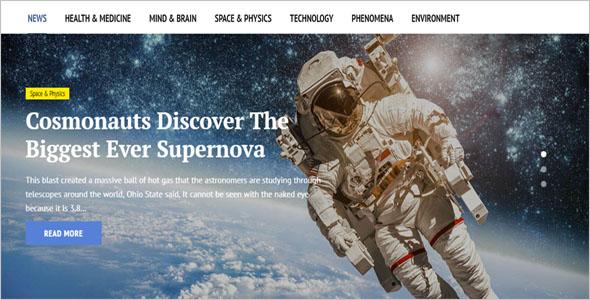 Top News Portal Blog Theme