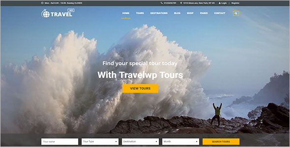 Top Selling Tour & Travel Website Template