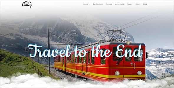 Tourism Website Template